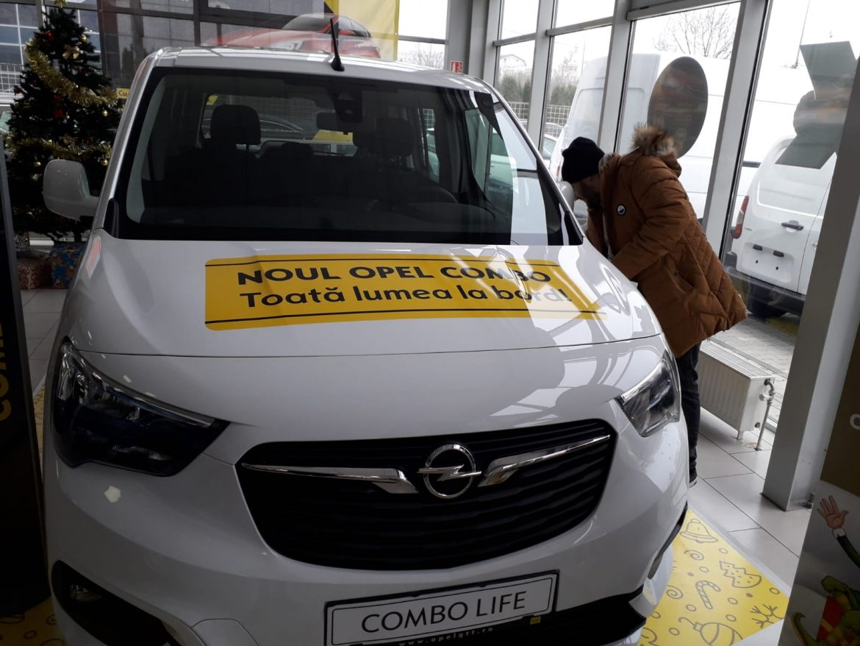 Colantare Opel Combo