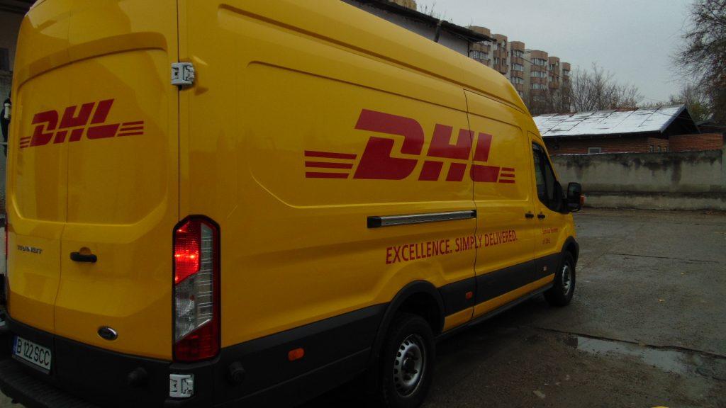 Colantare duba DHL